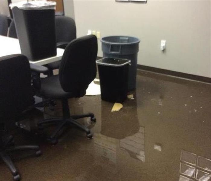Los Angeles Office Gets Flooded