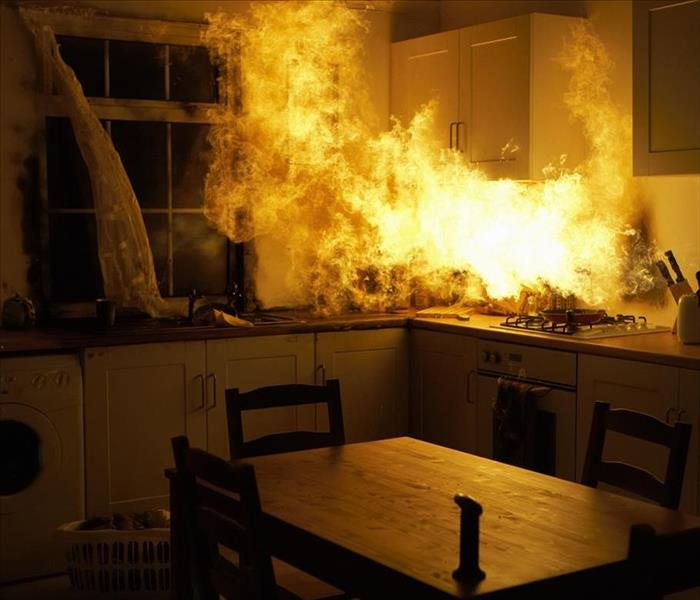 Fire Damage Prevent Kitchen Fire Damage in Your Los Angeles Home