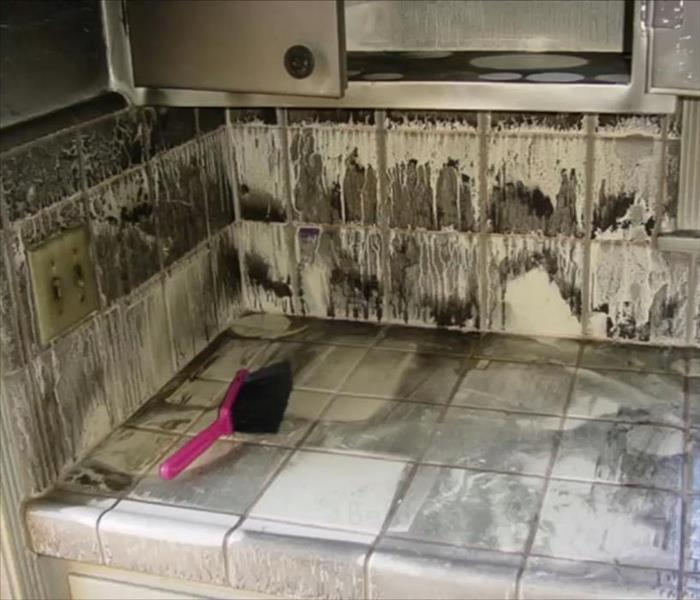 Fire Damage SERVPRO can restore fire Damage caused by electrical equipment